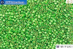 MIYUKI Beads Delica Galvanized DURACOAT Dark Mint Green 11/0 (DB1844)
