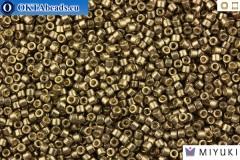 MIYUKI Beads Delica Galvanized DURACOAT Pewter 11/0 (DB1852)
