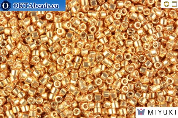 MIYUKI Beads Delica Galvanized Gold 11/0 (DB411)