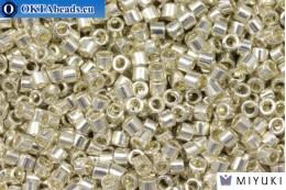 MIYUKI Beads Delica Galvanized Silver (DBM35) 10/0, 5gr DBM0035