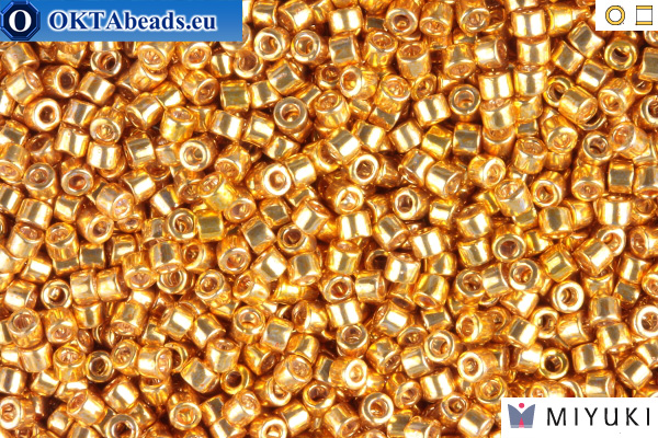 MIYUKI Beads Delica Galvanized Yellow Gold 11/0 (DB410) DB410