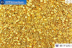 MIYUKI Beads Delica Gold 24Kt Plated 11/0 (DB31)