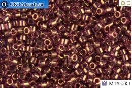 MIYUKI Beads Delica Gold Luster Amethyst 11/0 (DB108) DB108
