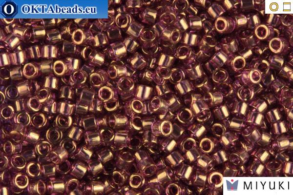 MIYUKI Beads Delica Gold Luster Amethyst 11/0 (DB108)