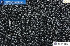 MIYUKI Beads Delica Gunmetal 11/0 (DB1) DB001