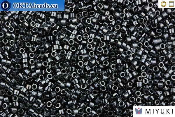 MIYUKI Beads Delica Gunmetal 11/0 (DB1)