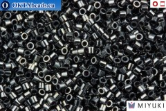 MIYUKI Beads Delica Gunmetal (DBS1) 15/0
