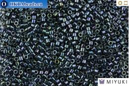 MIYUKI Beads Delica Gunmetal Iris 11/0 (DB6) DB006