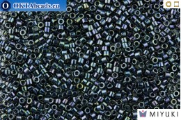 MIYUKI Beads Delica Gunmetal Iris 11/0 (DB6)