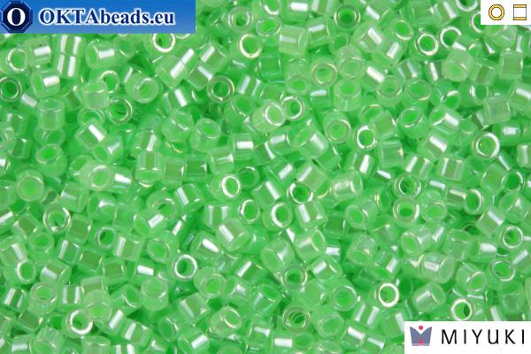 MIYUKI Beads Delica Lined Crystal Light Green 11/0 (DB237) DB237