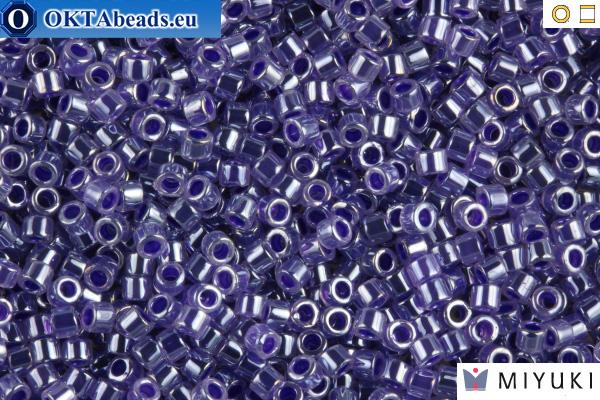 MIYUKI Beads Delica Lined Crystal Violet 11/0 (DB250) DB250