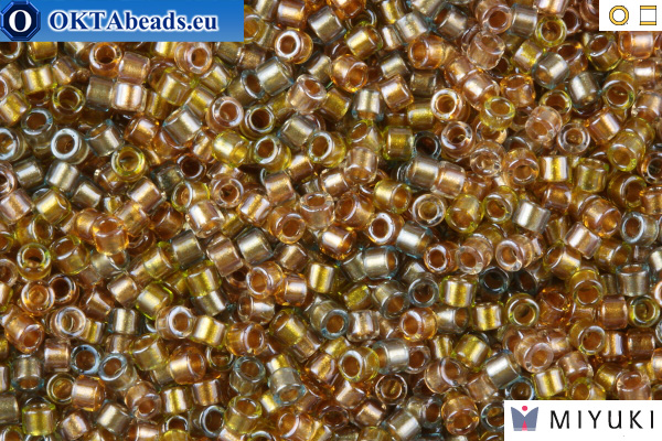 MIYUKI Beads Delica Lined Metallic Mix 11/0 (DB981)