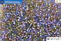MIYUKI Beads Delica Lined Purple Bronze Mix 11/0 (DB986)