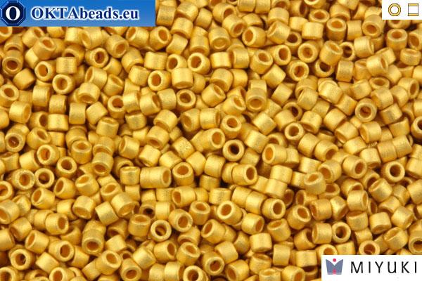 Metallic Matte Bright Yellow 24kt Gold Db331 Delica Myiuki 11//0 Seed Bead...
