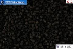 MIYUKI Beads Delica Matte Black 15/0 (DBS310)