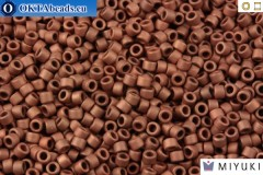 MIYUKI Beads Delica Matte Copper Plated (DB340) 11/0
