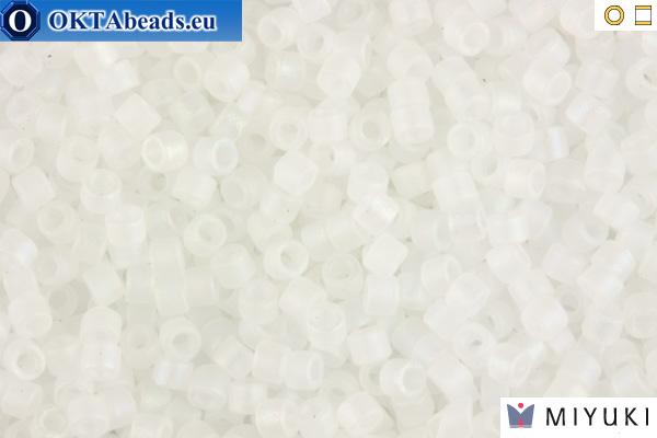 MIYUKI Beads Delica Matte Crystal AB 11/0 (DB851)