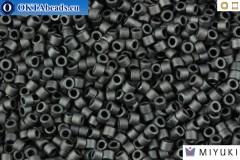 MIYUKI Beads Delica Matte Dark Grey 11/0 (DB306)