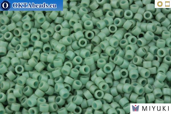 Miyuki Delicas 11//0 Metallic Matte Silver Seed Beads DB-321