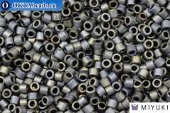 MIYUKI Beads Delica Matte Metallic Silver Gray (DBM307) 10/0, 5гр