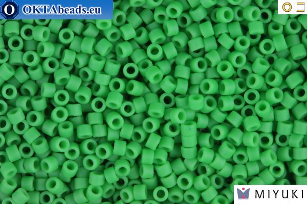 MIYUKI Beads Delica Matte Opaque Green 11/0 (DB754)