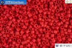 MIYUKI Beads Delica Matte Opaque Maroon 11/0 (DB796)