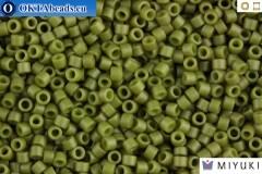 MIYUKI Beads Delica Matte Opaque Olive 11/0 (DB391)