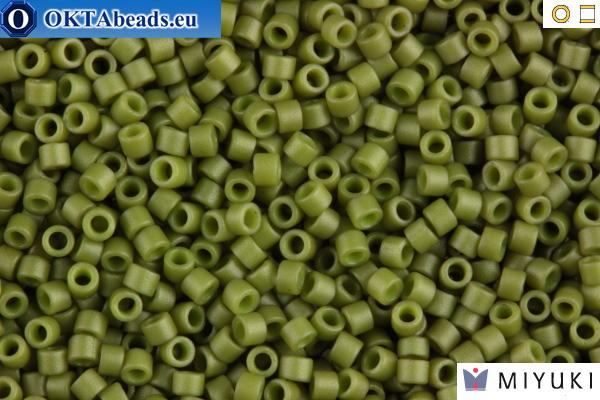 MIYUKI Beads Delica Matte Opaque Olive 11/0 (DB391) DB391