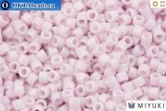 MIYUKI Beads Delica Matte Opaque Pale Rose AB (DB1524) 11/0
