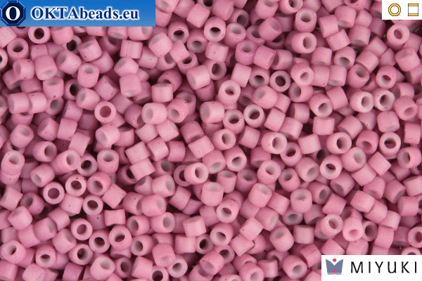 MIYUKI Beads Delica Matte Opaque Rose 11/0 (DB800)