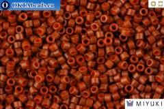 MIYUKI Beads Delica Matte Opaque Sienna 11/0 (DB794)