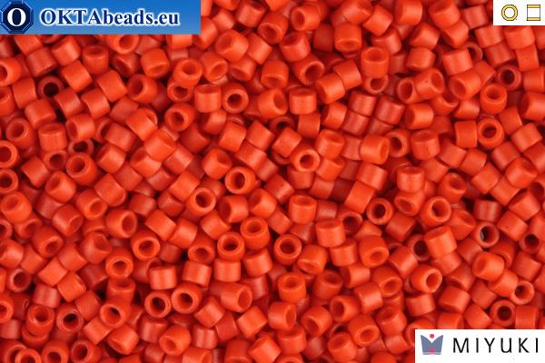 MIYUKI Beads Delica Matte Opaque Vermilion 11/0 (DB795)