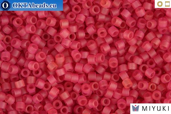 MIYUKI Beads Delica Matte Transparent Cranberry 11/0 (DB778)