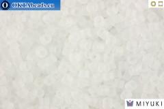 MIYUKI Beads Delica Matte Transparent Crystal 11/0 (DB741)