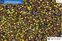 MIYUKI Beads Delica Metalic Purple/Gold Iris 11/0 (DB29) DB029
