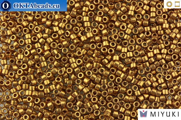 MIYUKI Beads Delica Metallc Light Bronze 11/0 (DB22L)