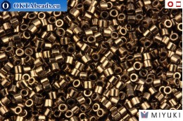 MIYUKI Beads Delica Metallic Bronze (DBS22) 15/0 DBS022