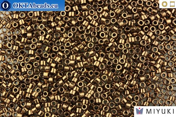 Delica 15//0 Cut Bronze AB Metallic