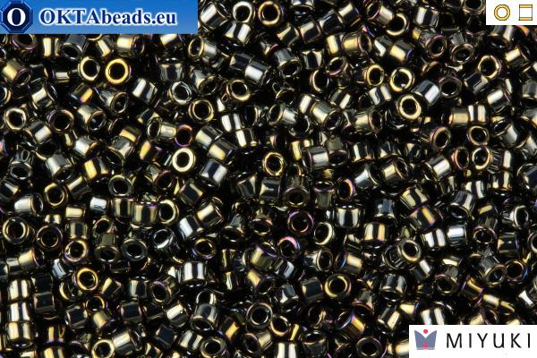 MIYUKI Beads Delica Metallic Dark Steel 11/0 (DB26) DB026