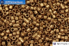 MIYUKI Beads Delica Metallic Light Bronze (DBM22L) 10/0, 5гр
