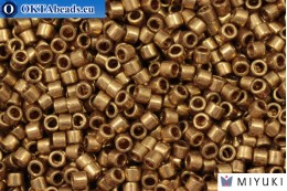 MIYUKI Beads Delica Metallic Light Bronze (DBM22L) 10/0, 5gr DBM0022L