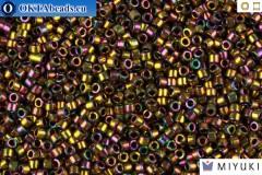 MIYUKI Beads Delica Metallic Light Bronze Iris 11/0 (DB23)