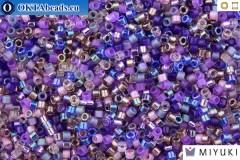 MIYUKI Beads Delica Mix Lilacs 11/0 (DBmix01)