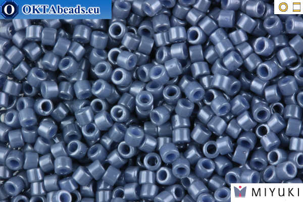MIYUKI Beads Delica Opaque Blueberry Luster 11/0 (DB267)