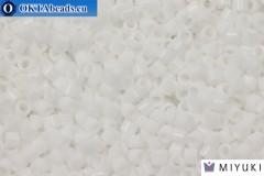 MIYUKI Beads Delica Opaque Chalk White (DBM200) 10/0, 5gr
