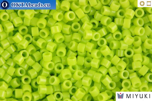 MIYUKI Beads Delica Opaque Chartreuse 11/0 (DB733)