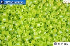 MIYUKI Beads Delica Opaque Chartreuse AB 11/0 (DB169)