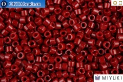 MIYUKI Beads Delica Opaque Cranberry 11/0 (DB654)