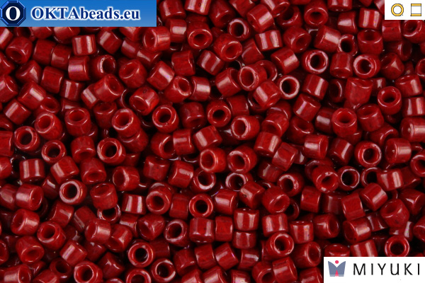 MIYUKI Beads Delica Opaque Cranberry 11/0 (DB654) DB654