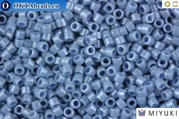 MIYUKI Beads Delica Opaque Denim Blue Luster 11/0 (DB266)